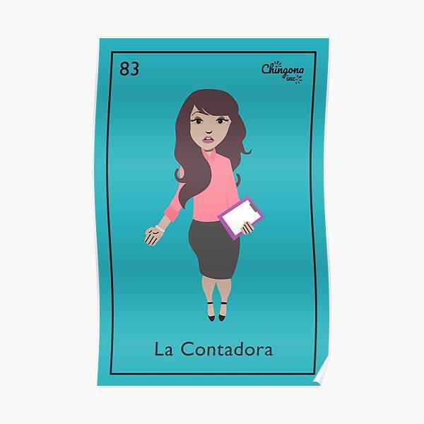 La Contadora Poster