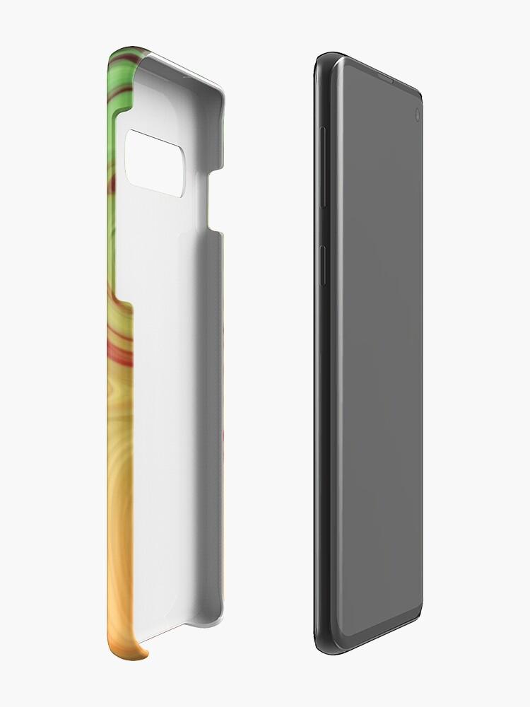 Alternative Ansicht von Marmor-Raserei Hülle & Klebefolie für Samsung Galaxy