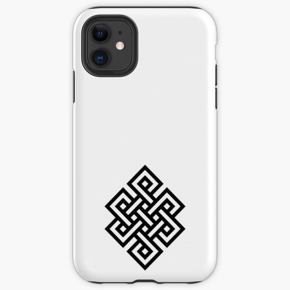 #Endless #Knot #Eternity #Buddhism Overhand Knot: iPhone Case & Cover