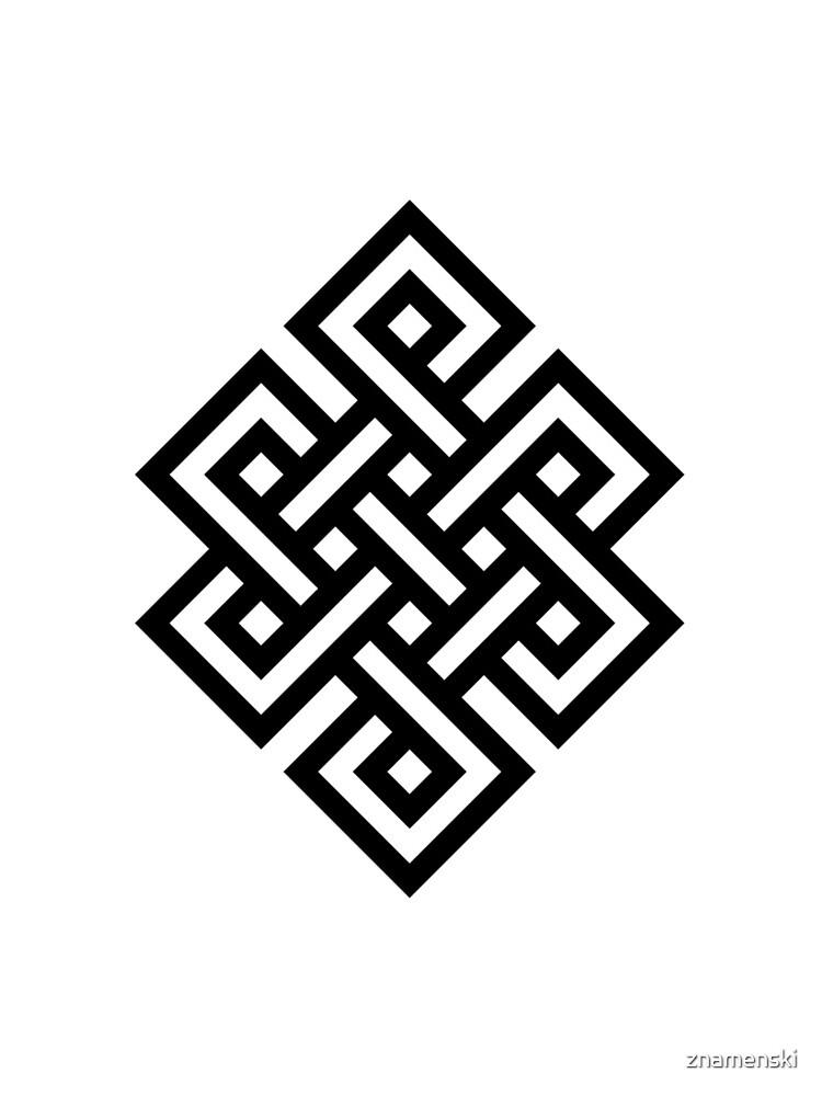 #Endless #Knot #Eternity #Buddhism Overhand Knot by znamenski