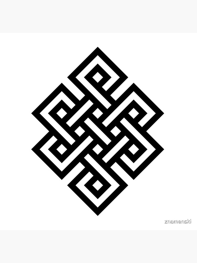 #Endless #Knot #Eternity #Buddhism Overhand Knot by znamenski