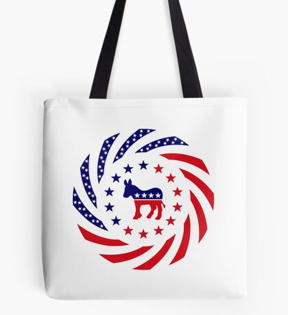 Democratic Murican Patriot Flag Series Tote Bag
