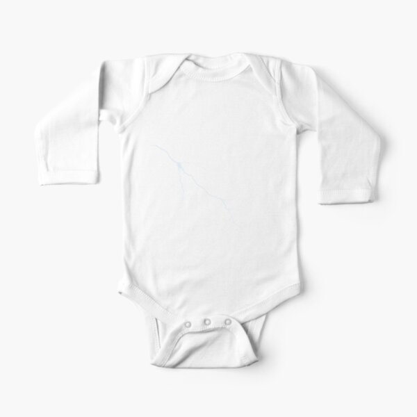 #Endless #Knot #Eternity #Buddhism Overhand Knot Long Sleeve Baby One-Piece