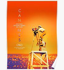 Póster Festival de cine de Cannes, 72 (2019) quality Calidad HQ