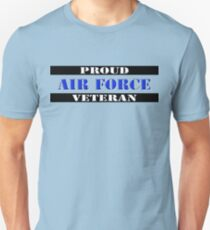 Proud Air Force Veteran Unisex T-Shirt