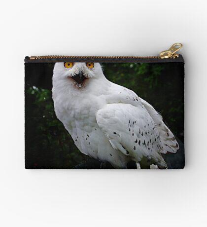 Snowy owl Studio Pouch
