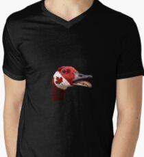 Canada Goose Mens V-Neck T-Shirt