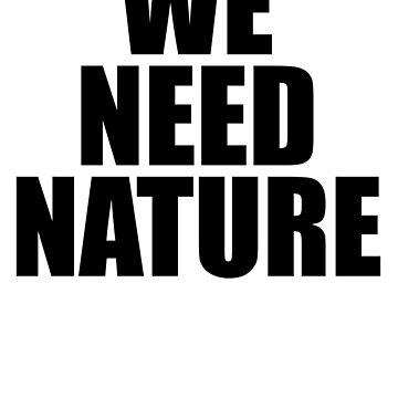 Wir brauchen die Natur von TheFlying6