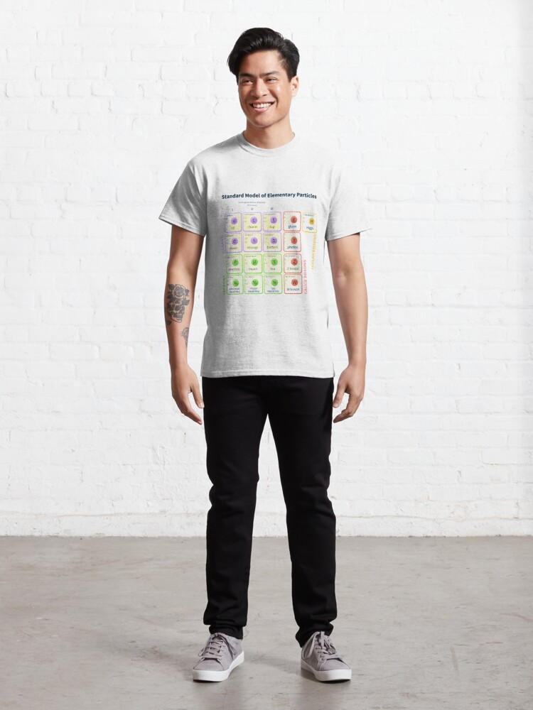 Alternate view of #Standard #Model Of #Elementary #Particles Classic T-Shirt