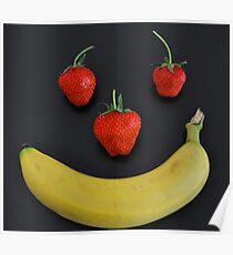 Fruity smile Poster