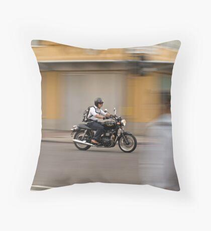 Easy Rider: Bankside, London Throw Pillow