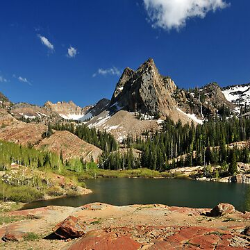 Lake Blanche, Vertorama by photoforyou