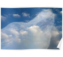 Angel watching over me Hard Journal Cover Poster