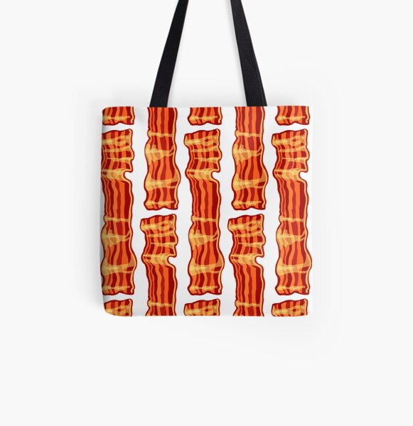 Yes, Bacon All Over Print Tote Bag