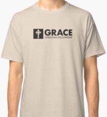 Grace Christian Fellowship Church Logo, Dark Banner Classic T-Shirt