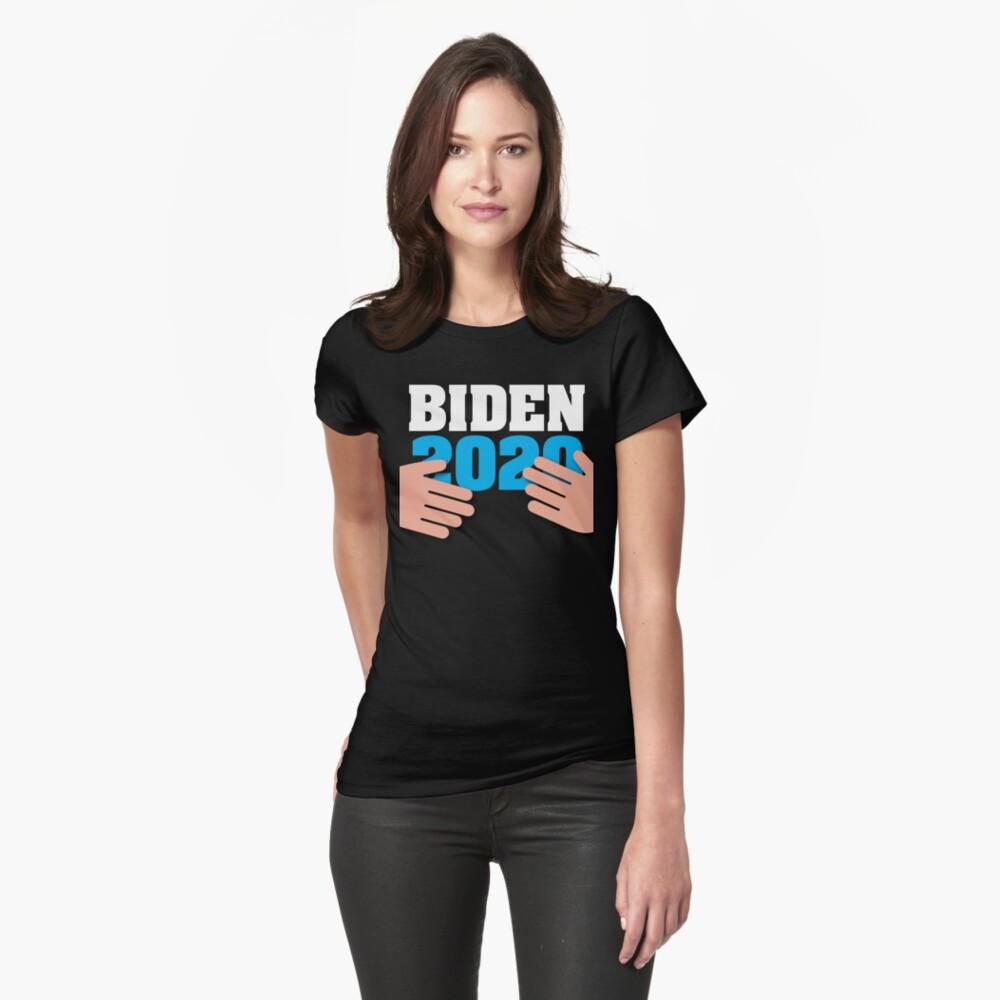 """Joe Biden 2020 Hands Funny Creepy Uncle Joe Meme"" T-shirt ..."