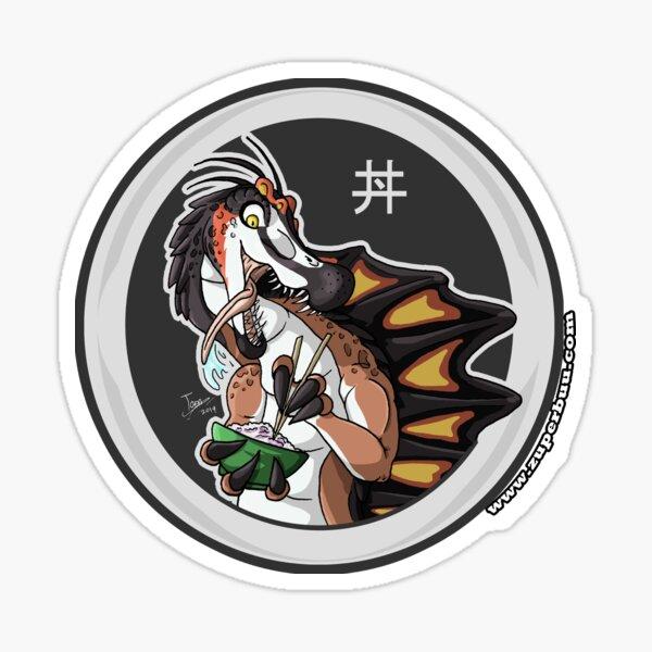 Donburi-Addict Spinosaurus Sticker
