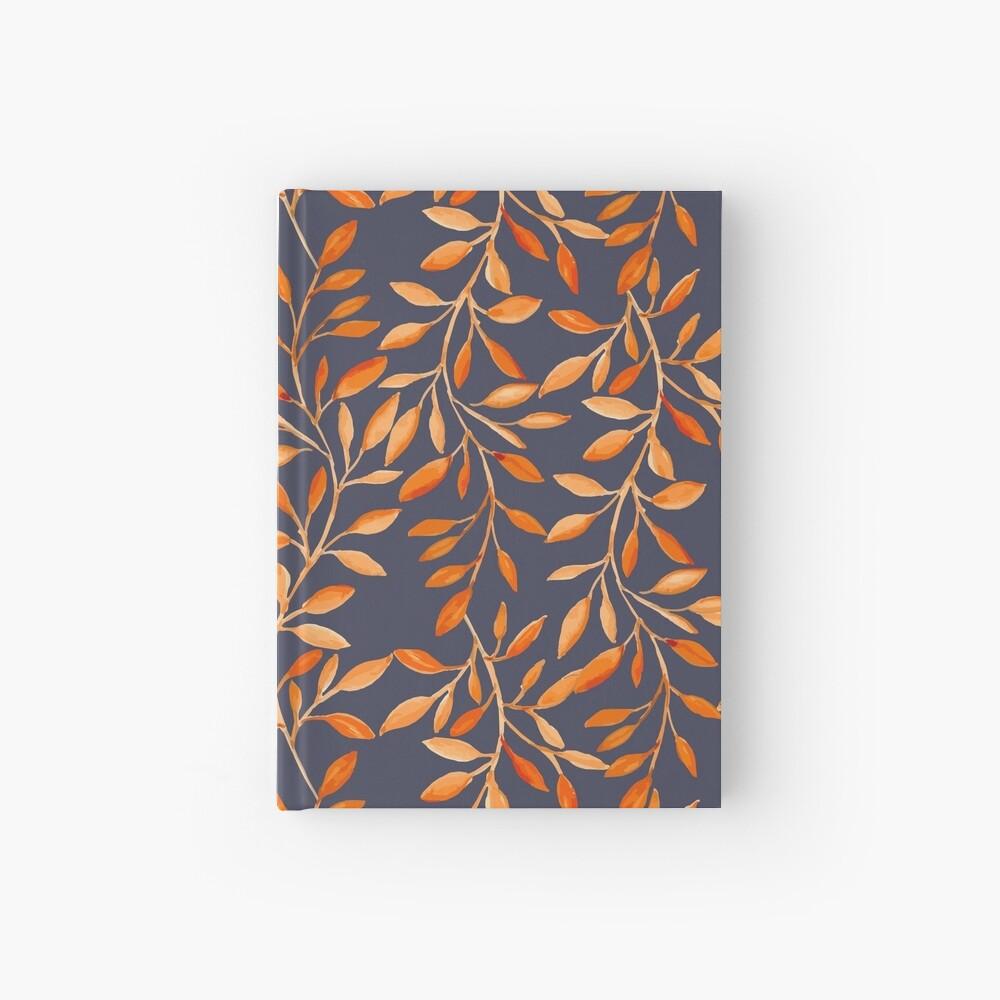 Autumn pattern Hardcover Journal