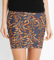 Autumn pattern Mini Skirt