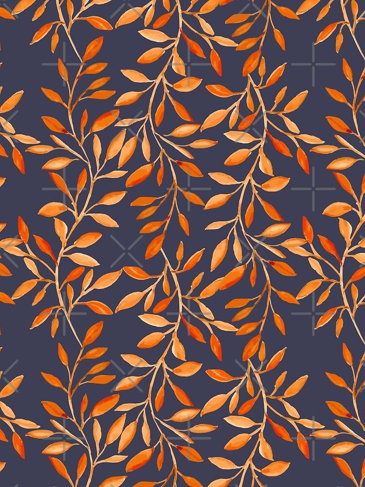 Autumn pattern by JuliaBadeeva