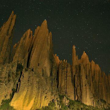 Valle de las Animas y estrellas by sergiocolour