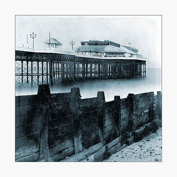 Cromer Pier and Groyne, Norfolk Photographic Print
