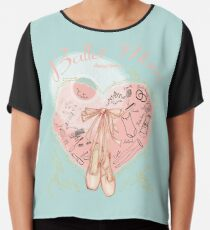 Ballet Mom Chiffon Top