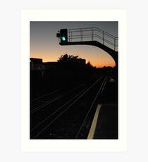 Balham night Art Print