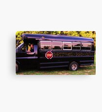 THE CHURCH BUS! Canvas Print