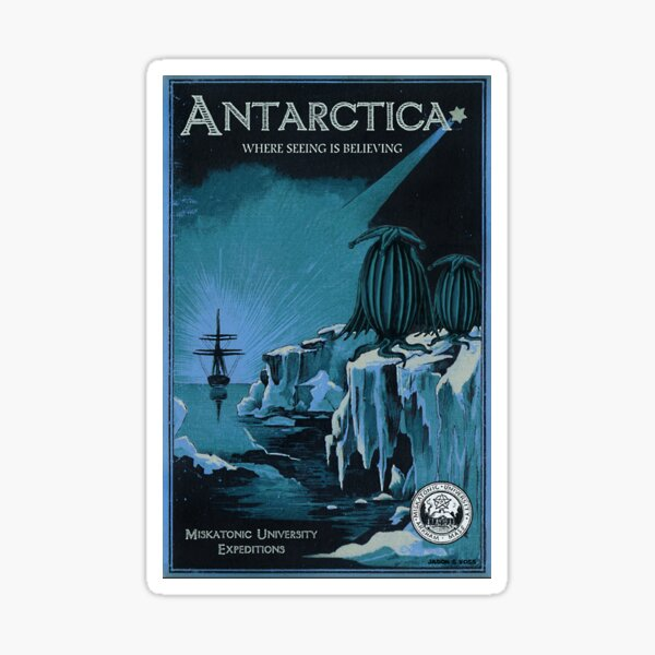 Antarctica Expedition Sticker