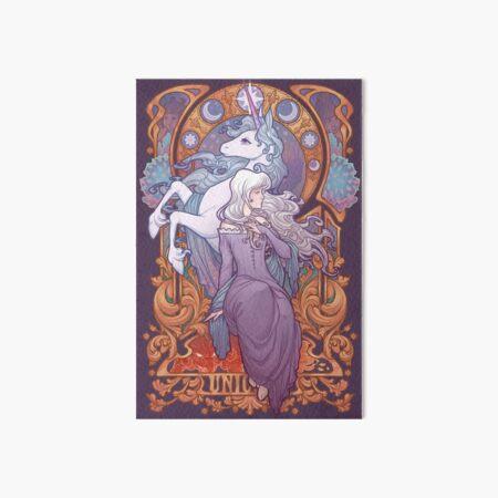 Lady Amalthea - The Last Unicorn Art Board Print