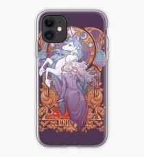 Lady Amalthea - The Last Unicorn iPhone Case
