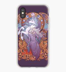 Lady Amalthea - La Dernière Licorne Coque et skin iPhone