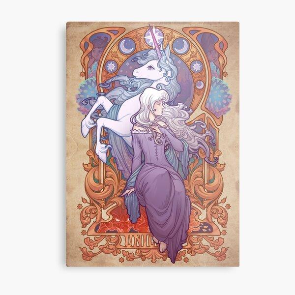 Lady Amalthea - The Last Unicorn Metal Print