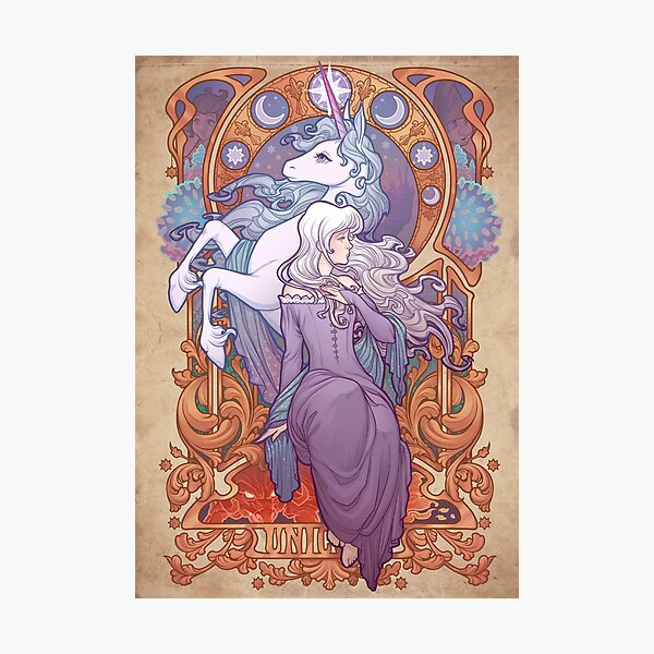 Lady Amalthea - The Last Unicorn Photographic Print