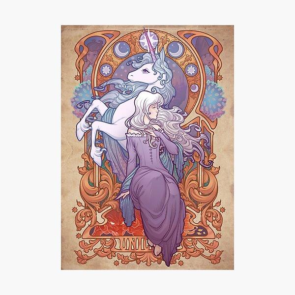 Lady Amalthea - The Last Unicorn Photographic Print