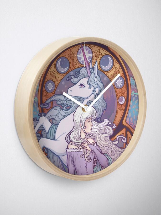 Alternate view of Lady Amalthea - The Last Unicorn Clock