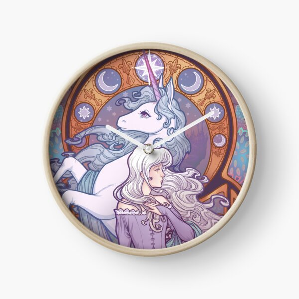 Lady Amalthea - The Last Unicorn Clock