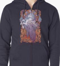 Lady Amalthea - The Last Unicorn Zipped Hoodie