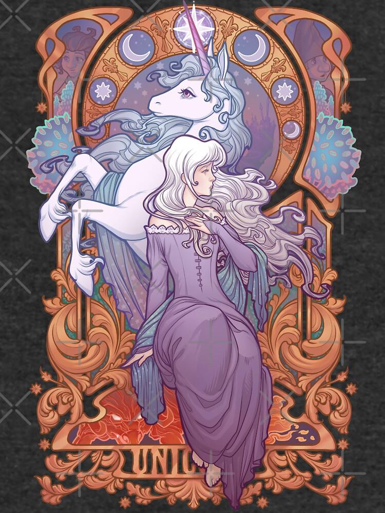 Lady Amalthea - The Last Unicorn by medusadollmaker