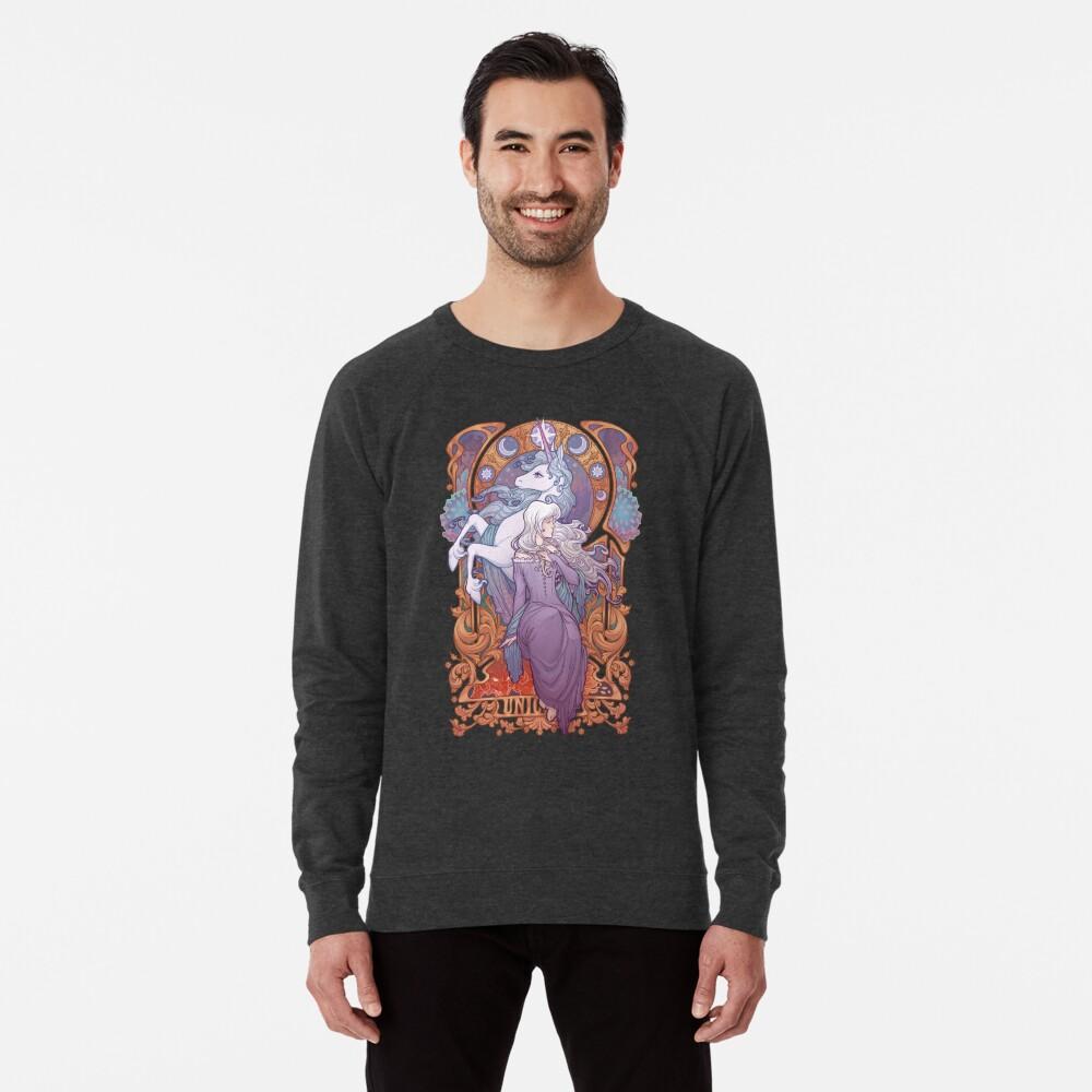 Lady Amalthea - The Last Unicorn Lightweight Sweatshirt