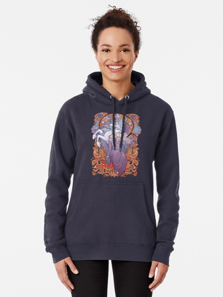 Alternate view of Lady Amalthea - The Last Unicorn Pullover Hoodie