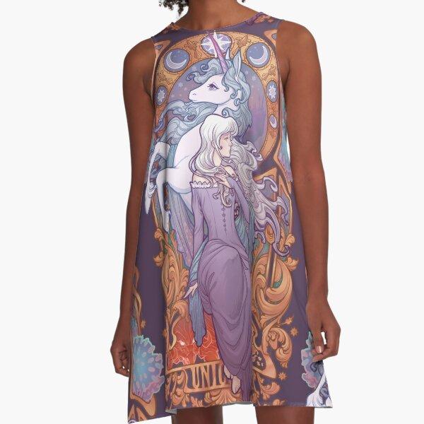 Lady Amalthea - The Last Unicorn A-Line Dress