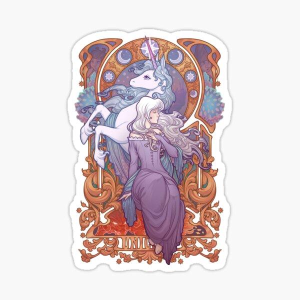 Lady Amalthea - The Last Unicorn Sticker