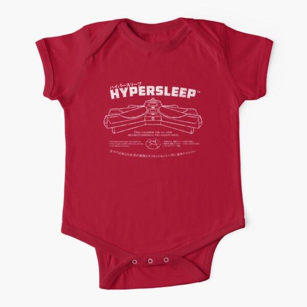 Hypersleep Short Sleeve Baby One-Piece