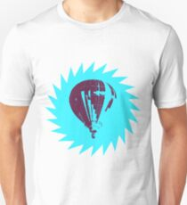 Stencil Pop Art Balloon (colored) Slim Fit T-Shirt