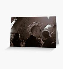Clubbing & Sex Pistols . by Brown Sugar . Views (307) thank yoy friends !!! Greeting Card