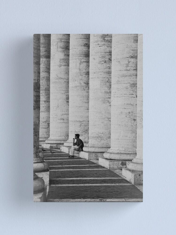 Alternate view of Taking a break Canvas Print