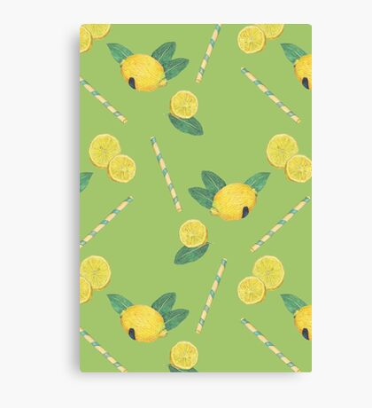 lemonade_green Canvas Print