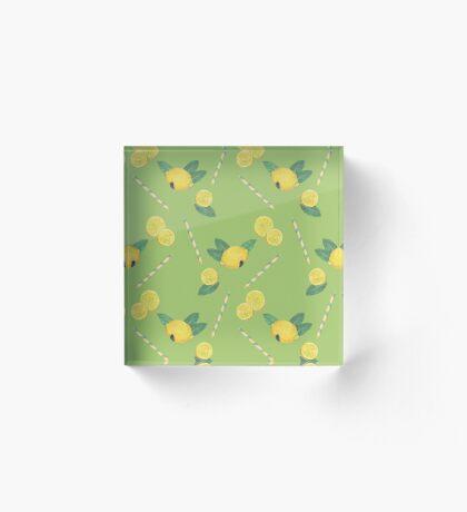 lemonade_green Acrylic Block